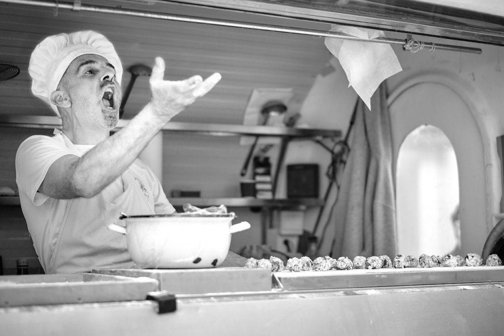 Italian chef - A. Tenzler
