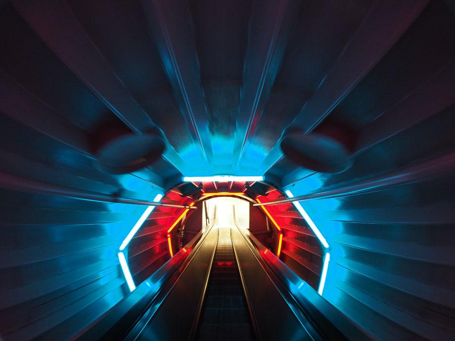 Licht am Ende des Tunnels-D. Schubert