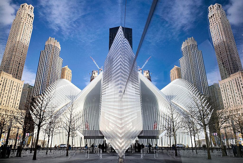 Reflected-WTC-memorial